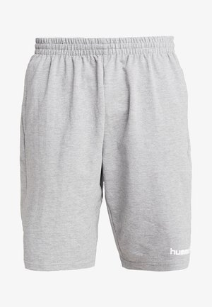 HMLGO BERMUDA - Pantalón corto de deporte - grey melange