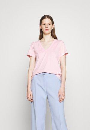 THE SLUB VEE - T-shirt basic - palecoral
