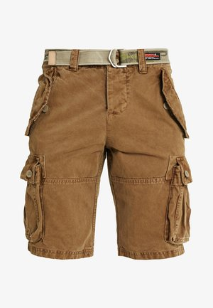 CORE CARGO HEAVY - Shorts - jungle sand