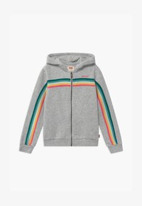 Levi's® - FULL ZIP HOODIE - Mikina na zip - light gray - 0