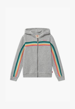 FULL ZIP HOODIE - veste en sweat zippée - light gray