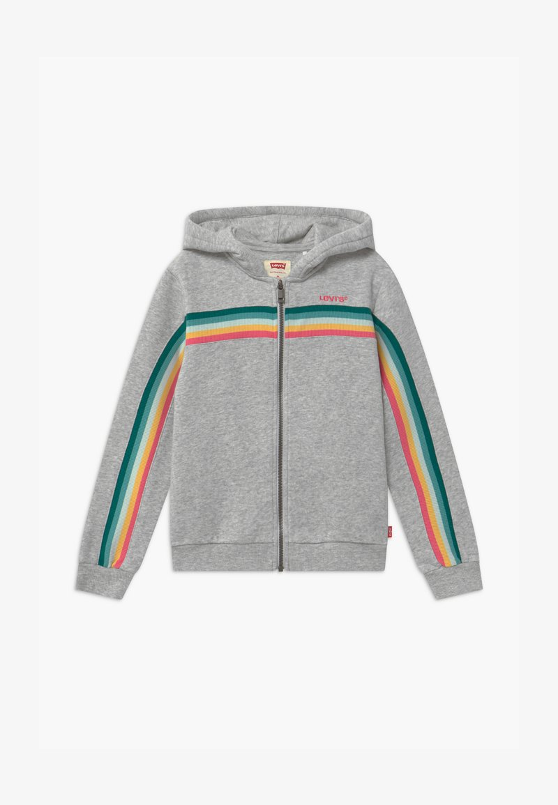 Levi's® - FULL ZIP HOODIE - Mikina na zip - light gray