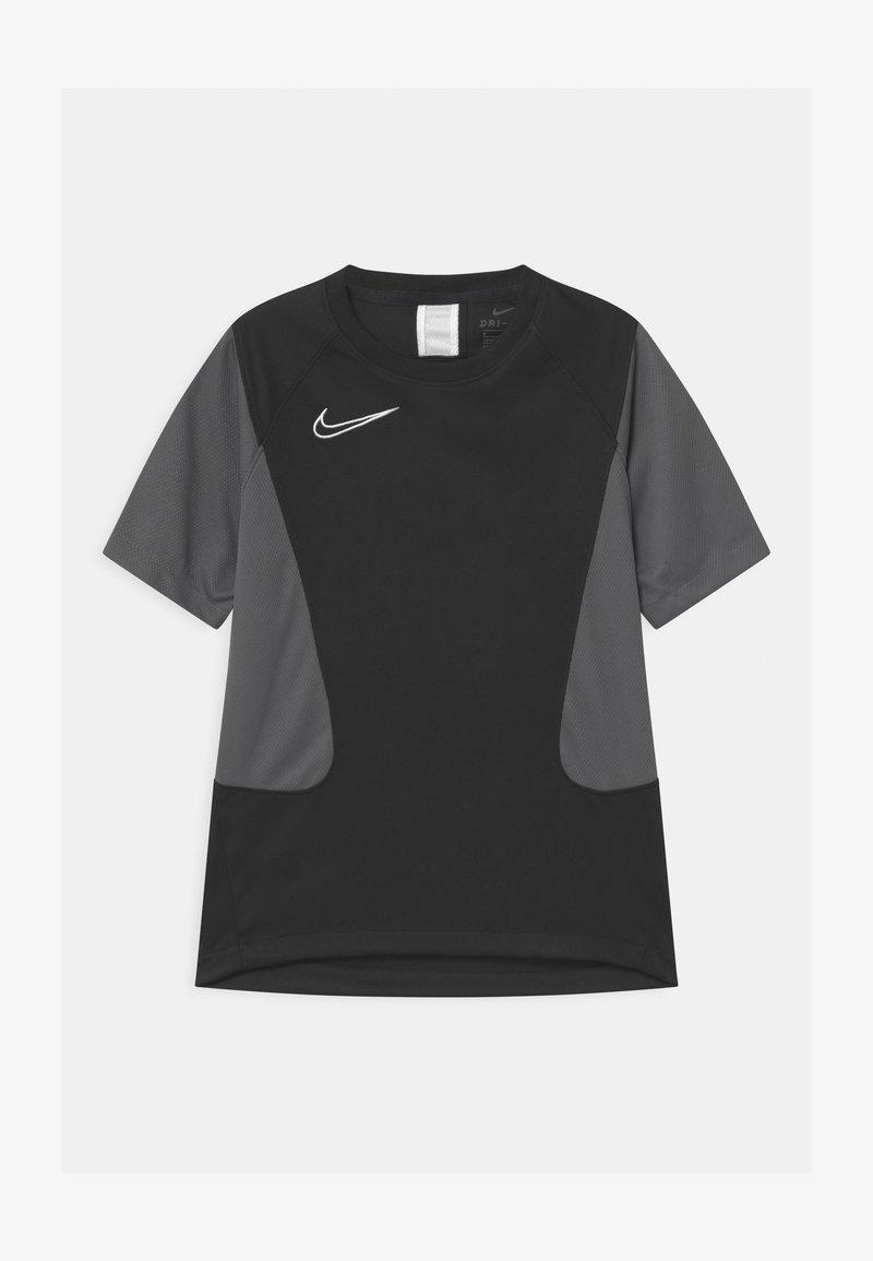 Nike Performance - ACADEMY UNISEX - Triko spotiskem - black/iron grey/white