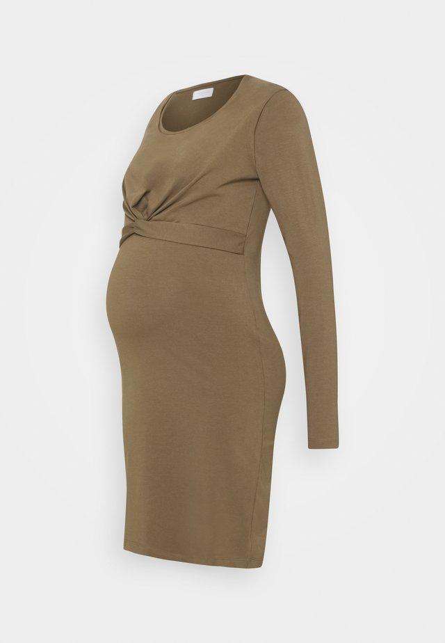 MLHELIA JUNE DRESS - Jersey dress - stone gray