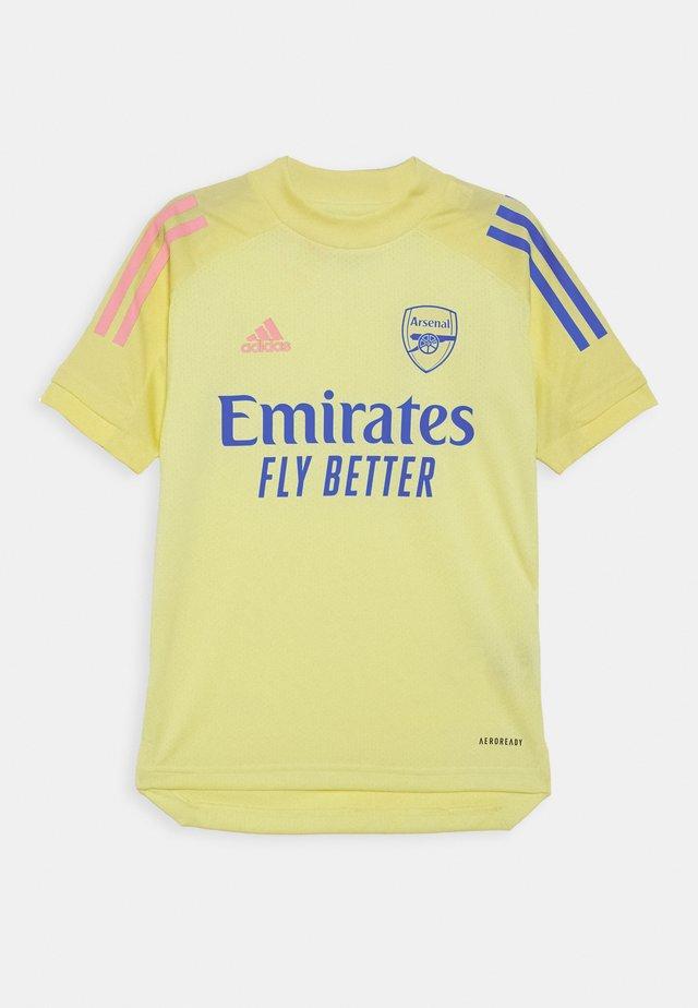 ARSENAL FC AEROREADY SPORTS FOOTBALL - Klubové oblečení - yellow tint