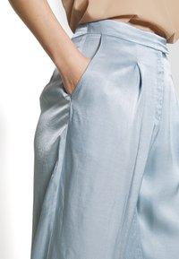 Bruuns Bazaar - SOFIA TELMA PANT - Pantalones - blue mist - 5