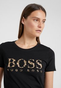BOSS - TIBOSS - Print T-shirt - black - 4