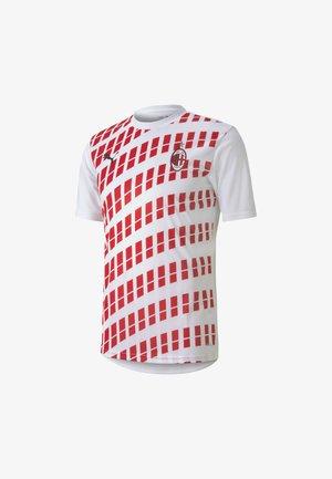 AC MILAN  - Klubbkläder - white/tango red