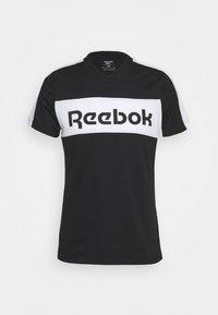 Reebok - GRAPHIC TEE - T-shirts print - black - 3