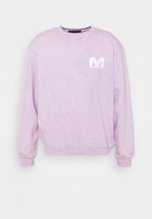 SUNDAZE WASHED REGULAR UNISEX - Sweater - lilac