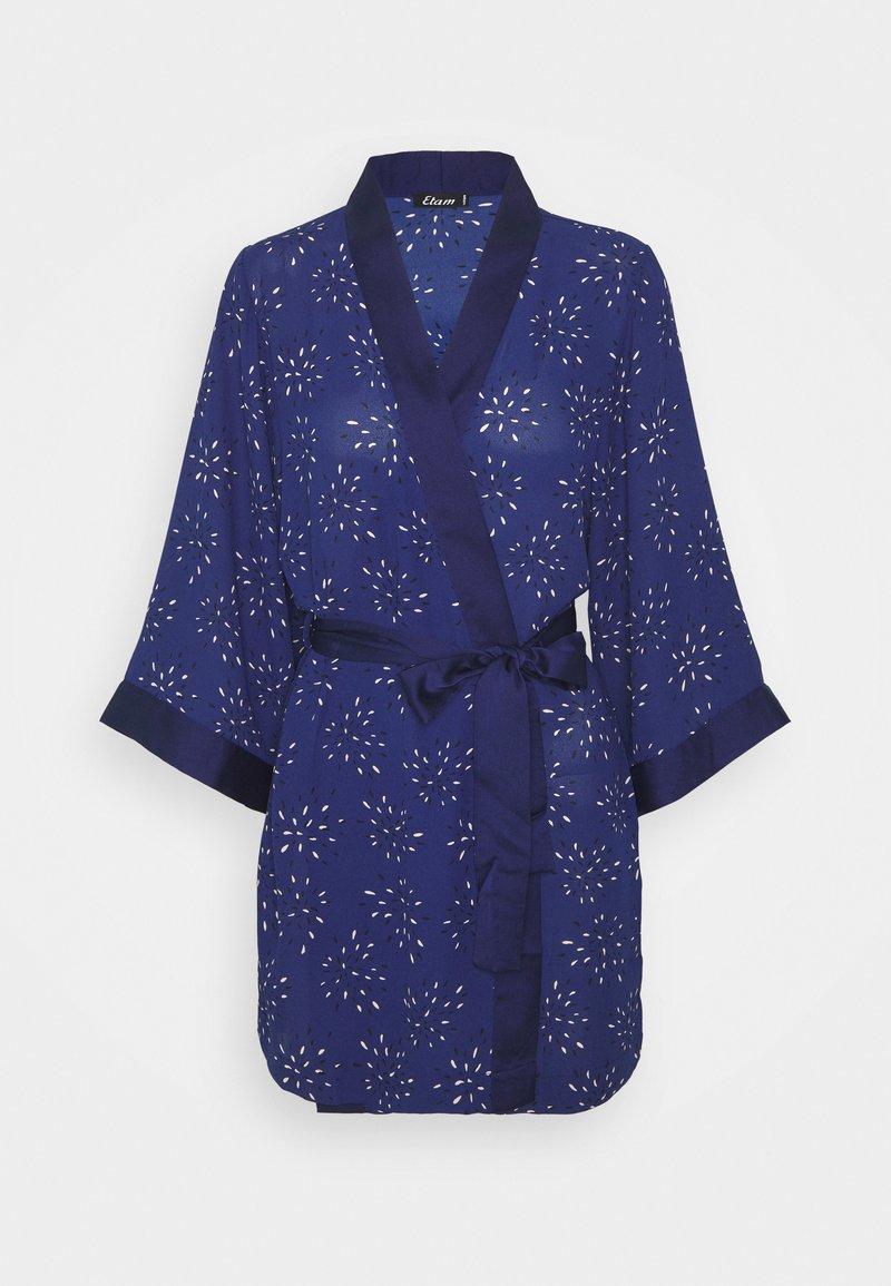Etam - LILOUE DESHABILLE - Dressing gown - bleu vif