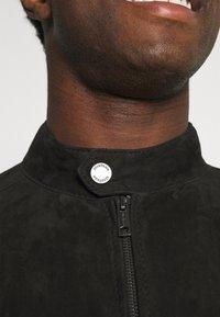 Strellson - OSCO - Leather jacket - black - 6