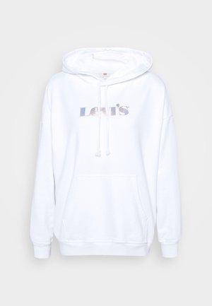 GRAPHIC RIDER HOODIE - Sweatshirt - white