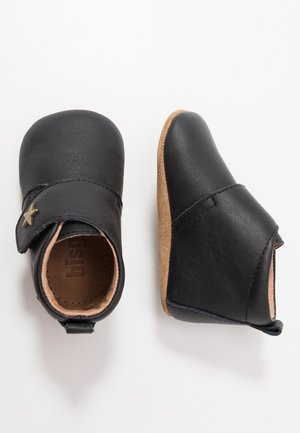 BABY STAR HOME SHOE - Kravlesko - black