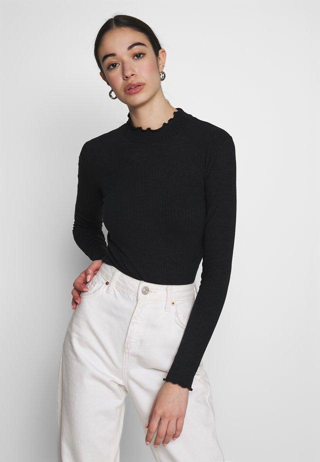 LOVE - Long sleeved top - black