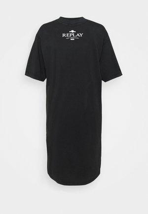 DRESS - Vestito di maglina - blackboard