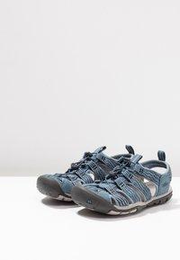 Keen - CLEARWATER CNX - Walking sandals - blue mirage/citadel - 2