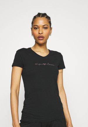 Nachtwäsche Shirt - nero