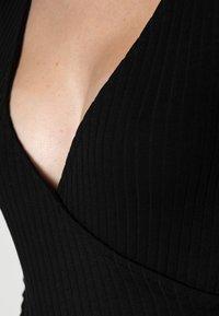 Even&Odd - BODYSUIT BASIC - Långärmad tröja - black - 4