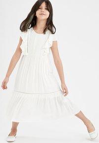 DeFacto - Day dress - white - 0