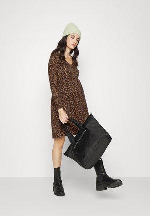 MLZENIA - Jersey dress - black