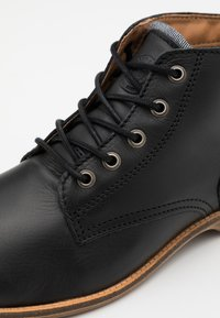 Sneaky Steve - CRASHER - Lace-up ankle boots - black - 5