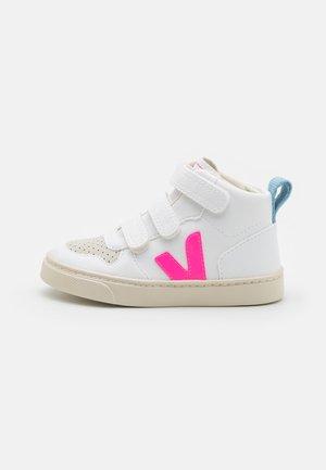 SMALL V-10 MID - Sneakers hoog - white/sari/steel
