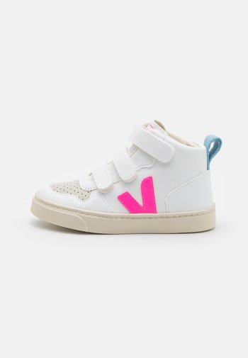 SMALL V-10 MID - High-top trainers - white/sari/steel