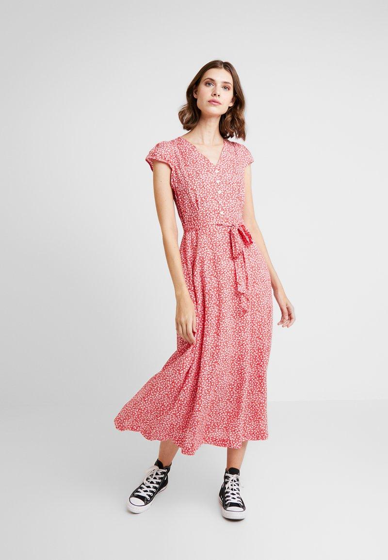 Louche - CATHLEEN BLOOM - Shirt dress - red