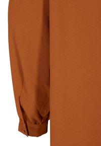 Zizzi - Button-down blouse - brown - 6