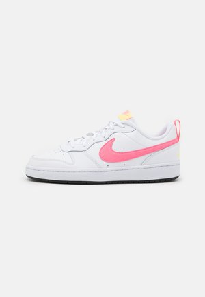 COURT BOROUGH 2 UNISEX - Trainers - white/sunset pulse/light zitron/black