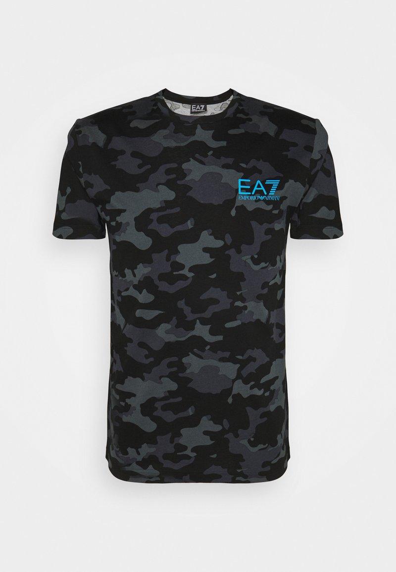 EA7 Emporio Armani - Triko spotiskem - black