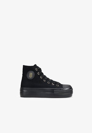 VEGANA 41101 IRIA  - Zapatillas altas - black