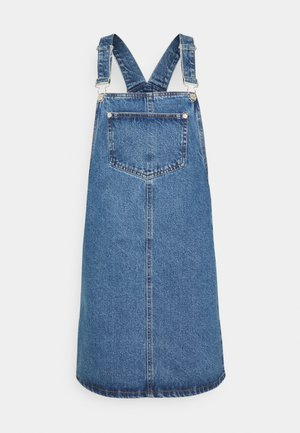 PADDY PINNY - Denim dress - mid blue