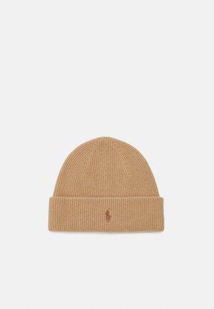 HAT - Bonnet - camel melange