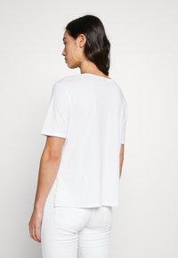 G-Star - CORE OVVELA - Print T-shirt - white - 2