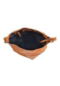 Gusti Leder - Tote bag - cognac - 4