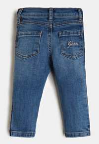 Guess - LOGOSTREIFEN - Jeans Skinny Fit - blau - 1
