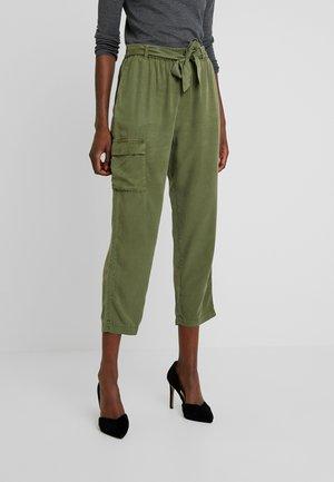 ROSANNA PANTS - Trousers - lichen green