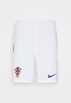 KROATIEN CRO SHORT - kurze Sporthose - white/bright blue