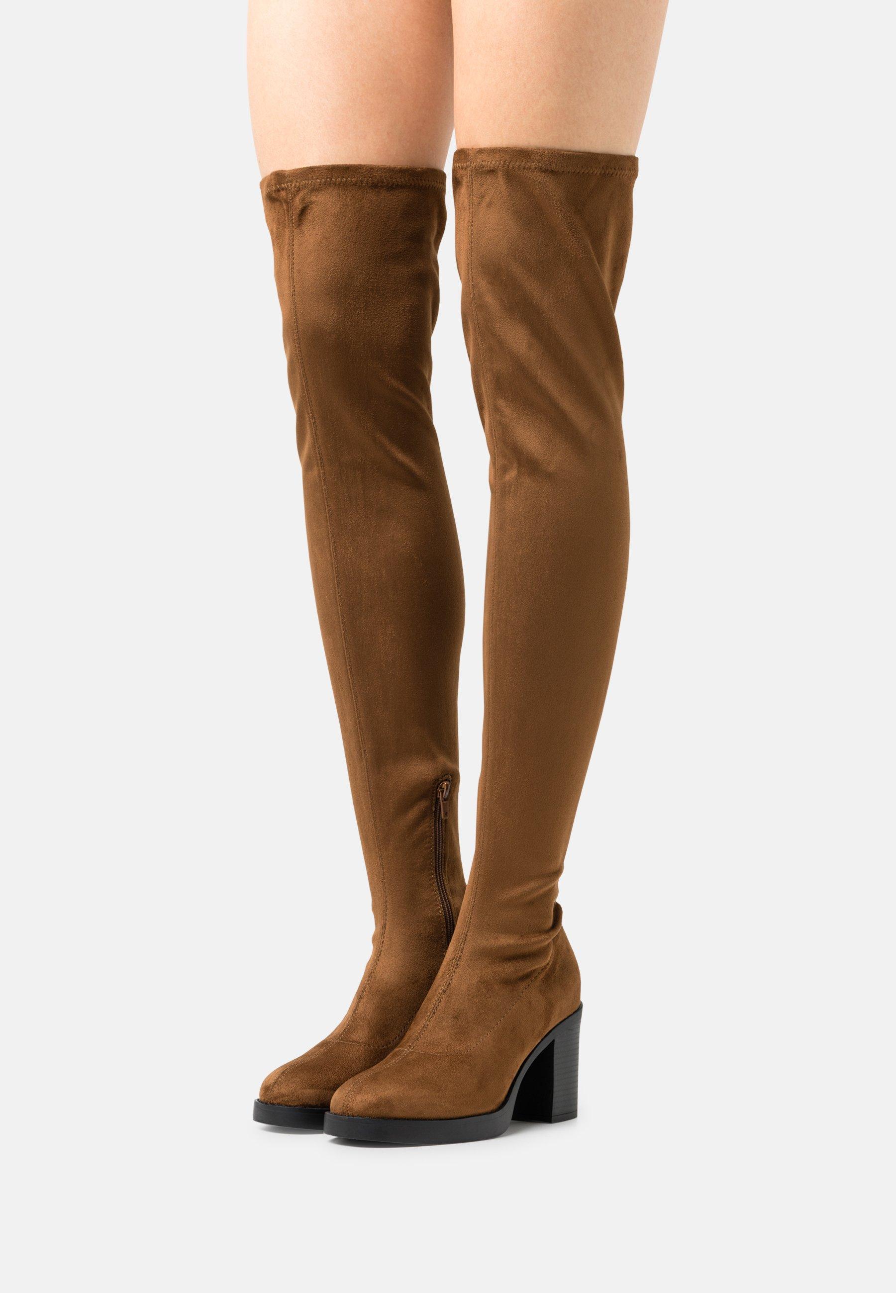 Damen ONLBUBBLE - High Heel Stiefel