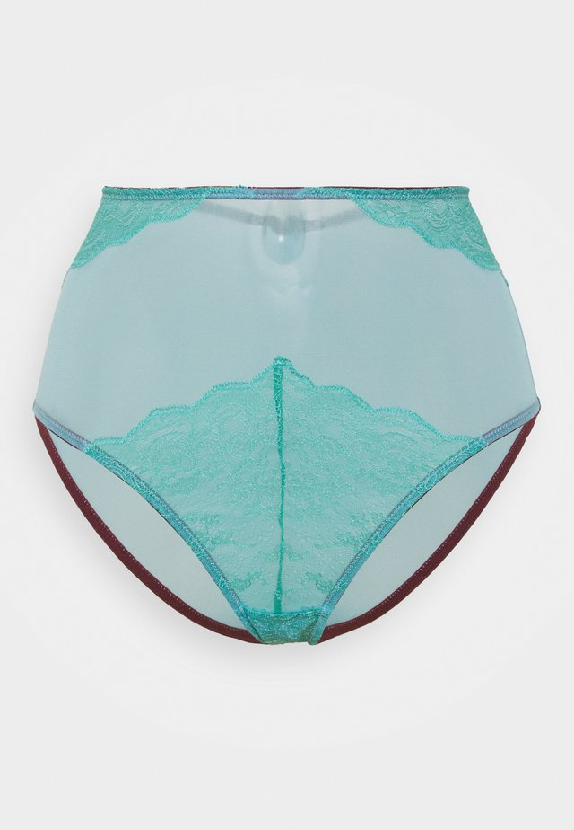 EBBA HIGH WAIST KNICKER - Bokserit - teal