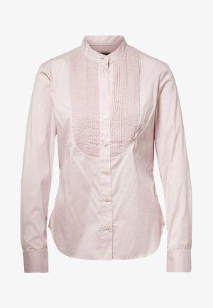 LANC BIB SLIM - Button-down blouse - berry shake