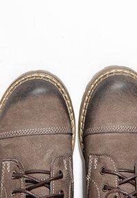 Inuovo - Platform ankle boots - nb brown ubr - 6