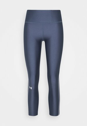 ANKLE CROP - Legginsy - mechanic blue