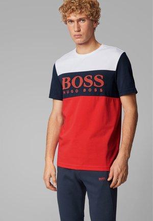 TEE 6 - Print T-shirt - red