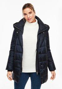 Triangle - MIT KAPUZE - Winter coat - navy - 5