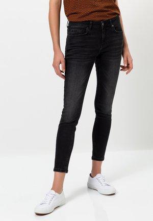 Jeans Skinny Fit - black washed denim