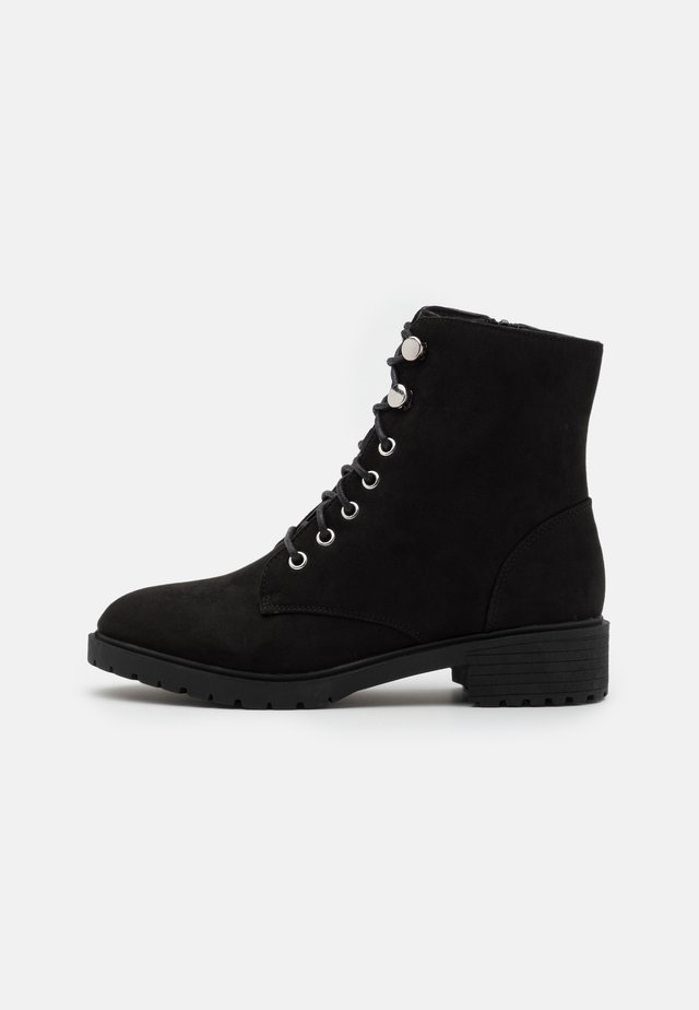 CRISTA - Lace-up ankle boots - black