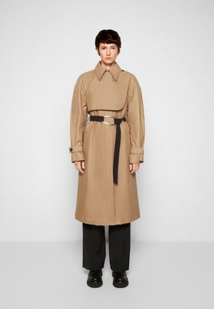 DOUBLE FACED - Trenchcoat - sandstone